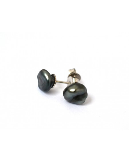 NATURAL TAHITIAN PEARLS EARRINGS