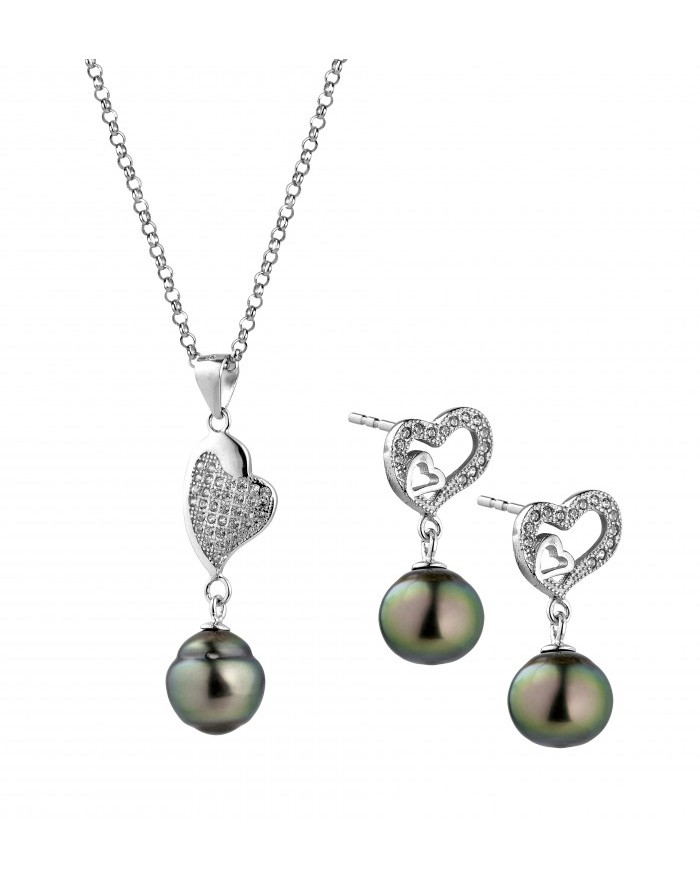 earrings en interchangeables australian and hoops pearls half diamonds