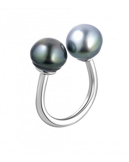Tahitian Pearls you and me Ring