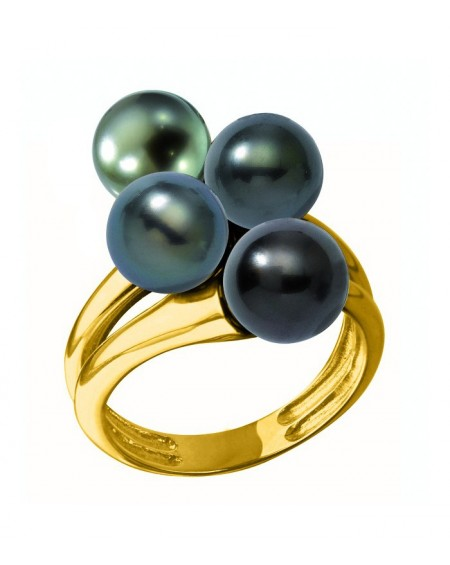 Tahitian Pearls 7/8mm GOLD RING