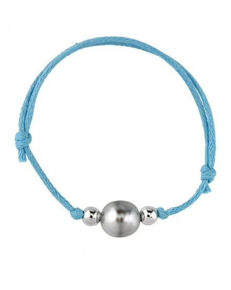 blue night tahitan pearl bracelet