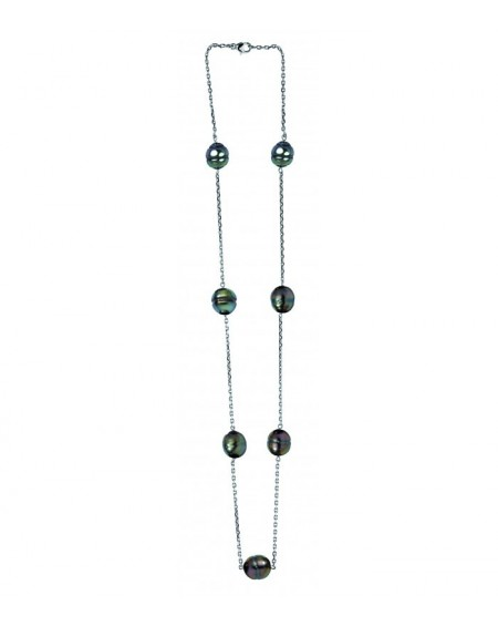 Tahitian Pearls 18K gold Necklace