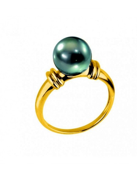 Tahitian pearl's Yellow Gold 18K RING