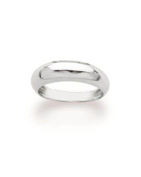 White Gold Bangle Ring