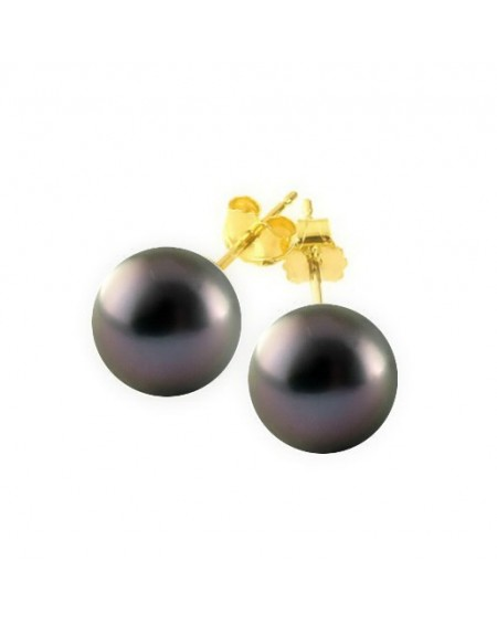 9/10mm Tahitian Pearls earrings