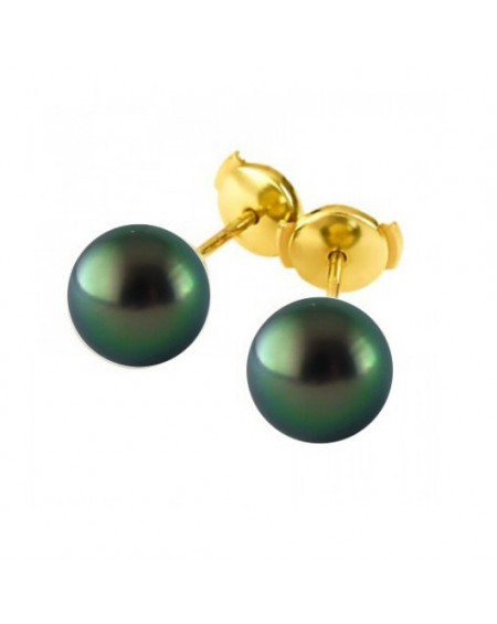 10/11mm Tahitian Pearls earrings